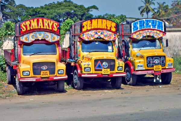 LKW Kochi Indien